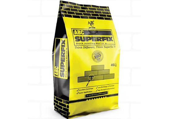 Superfix Jointer Mortar